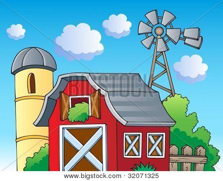 Farm theme image 2 - vector illustration.