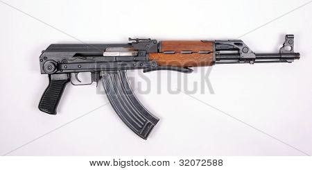 Serbian M70 assault rifle.