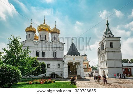 August 4, 2018. Russia The City Of Kostroma On The Volga Holy Trinity Ipatiev Monastery. Editorial
