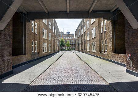 Entrance To The Justus Van Effencomplex By Architect Michiel Brinkman In Rotterdam Spangen In The Ne