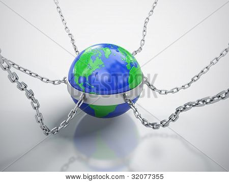 Trapped Earth.