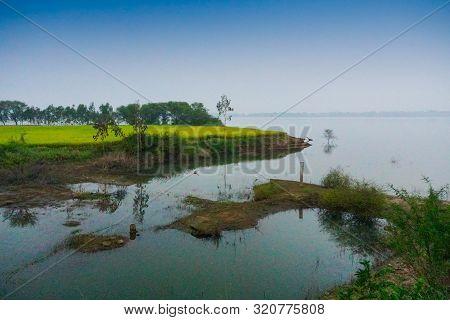 Backwaters Of Kerala, India - The Kerala Backwaters Are A Network Of Brackish Lagoons And Lakes Lyin