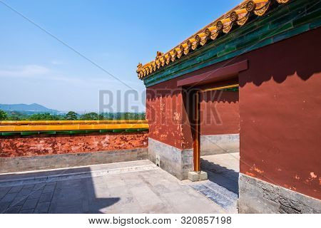 Beijing, China - May 25, 2018: View Of Summer Palace, An Imperial Garden, Where Integrates Numerous