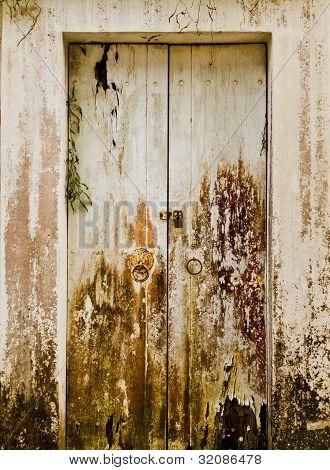The White Wooden Door