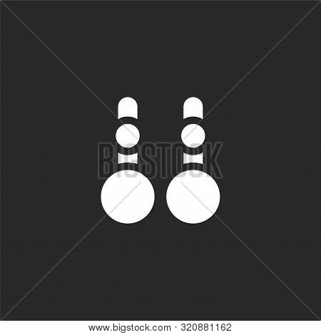 Accessories Icon. Accessories Icon Vector Flat Illustration For Graphic And Web Design Isolated On B
