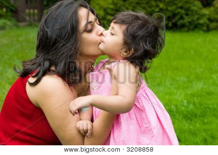 Big Kiss From Mommy