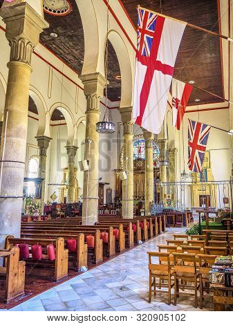 Holy Trinity Cathedral. Gibraltar, British Overseas Territory. Uk.
