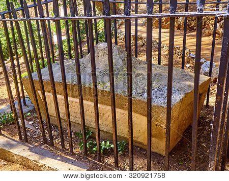Trafalgar Cemetery In The British Overseas Territory Of Gibraltar. Uk.