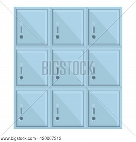 Deposit Room Cash Icon. Cartoon Of Deposit Room Cash Vector Icon For Web Design Isolated On White Ba