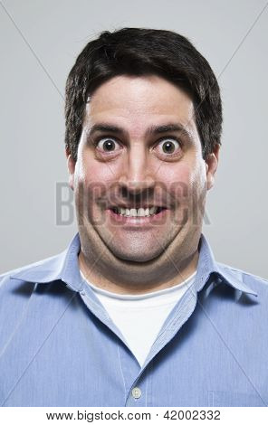 Overly Excited Man