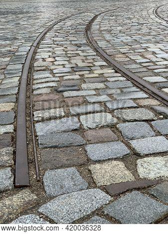 Railroad End, Road End Concept, Selective Focus