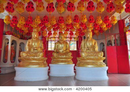 Statues Of Buddhist Gods
