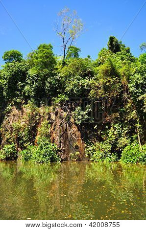 Quarry at Bukit Batok nature park