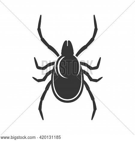 Tick Sign On White Background. Bug Icon Vector