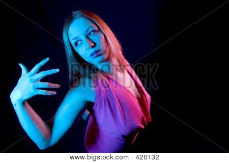 Woman In Pose