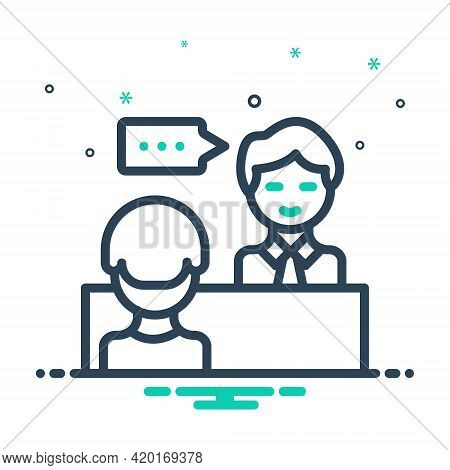 Mix Icon For Advice Counsel Rede Preaching Sermon Instruction Edification