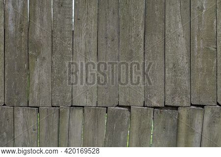 Gray Messy Wooden Planks Wall Suface Texture And Background