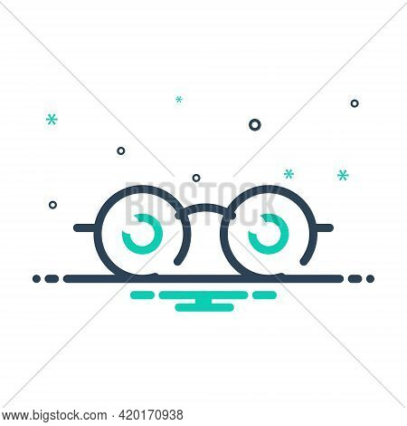 Mix Icon For See View  Look Sight Watch Vision Eyesight Dristi Peep