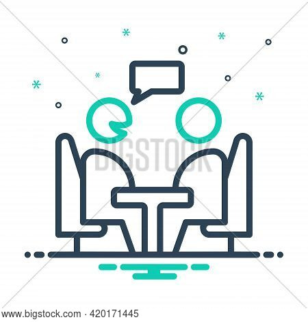 Mix Icon For Consultant Opinion Advice Counsel Rede