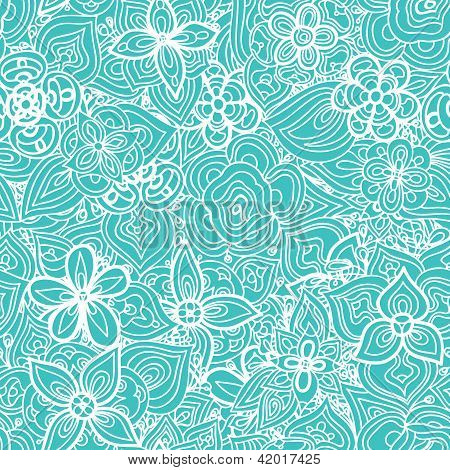 beautiful floral leaf seamless vector background wallpaper pattern for wedding interior textile poster