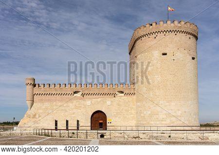 Arevalo, Spain - October 06, 2019: Castle Of Arevalo City In Avila, Castile And Leon, Spain