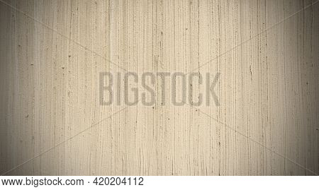 The Light Brown Color Of Rough Texture Concrete Wall Skin With Random Pattern Cement Plaster On Its