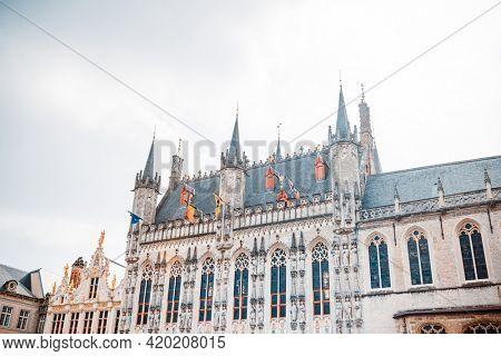 Bruges Square in Bruges, Belgium