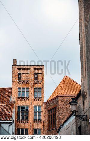 view of Buildings around Bruges, Belgium