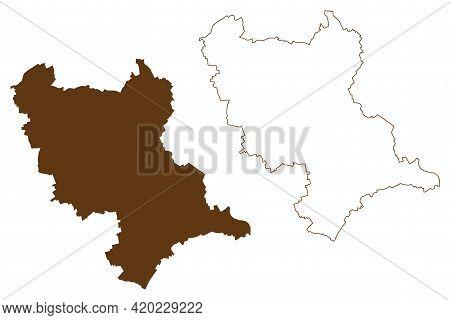 Rhein-erft-kreis District (federal Republic Of Germany, State Of North Rhine-westphalia, Nrw, Cologn