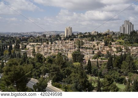 Mishkenot Sha'ananim And Yemin Moshe Are The First Jewish Neighborhoods Built Outside Of The Old Jer