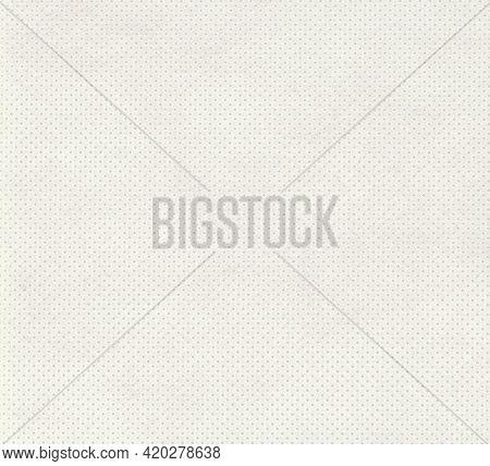 White Nonwoven Polypropylene Fabric Texture Background