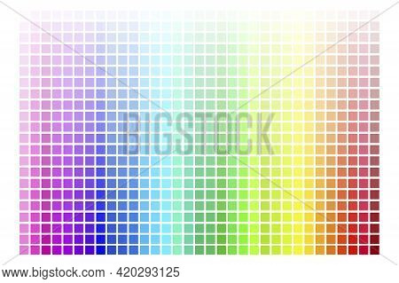 Colorful Palette. Abstract Illustration With Colorful Palette. Stock Image. Vector Illustration. Eps