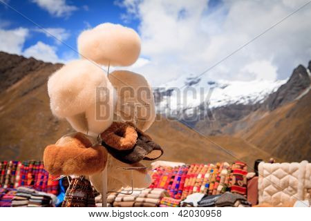 Views from the Andes Peru South America