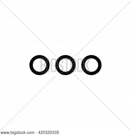 Option Icon Isolated On White Background. Option Icon In Trendy Design Style For Web Site And Mobile