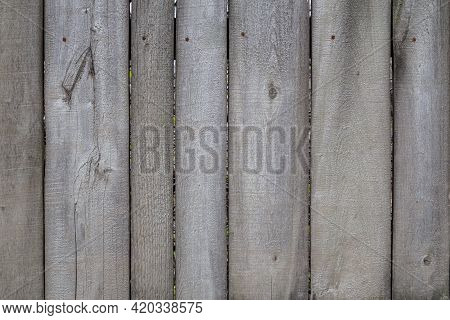Gray Dry Wooden Planks Wall Suface Texture And Background