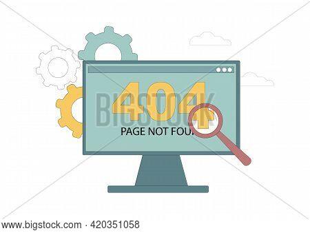 404 Page Error. Page Not Found. Site Maintenance Error