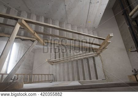 Stairs And Staircase In A Building