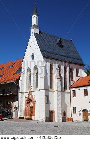 Raciborz City In Poland. Raciborz Landmark - Piast Dynasty Medieval Castle (polish: Zamek Piastowski
