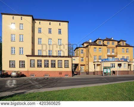 Jastrzebie Zdroj, Poland - May 11, 2021: Tax Office (polish: Urzad Skarbowy) In Jastrzebie Zdroj, Po
