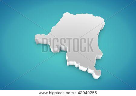 Map Of Congo Republic