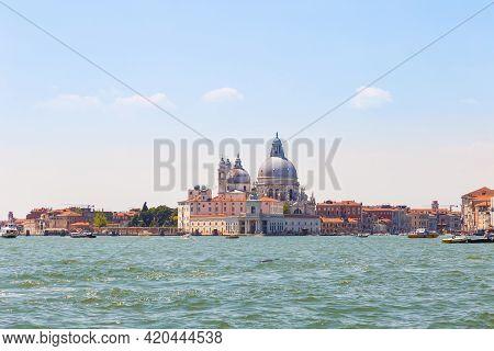 Cathedral Of Santa Maria Della Salute (basilica Di Santa Maria Della Salute). Venice, Italy.