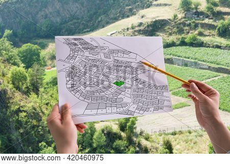 Cadastre Land Development Map And Developer Plot