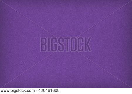 Purple Colored Paper Texture. Deep Violet Background With Vignetting. Bright Summer Wallpaper. Textu