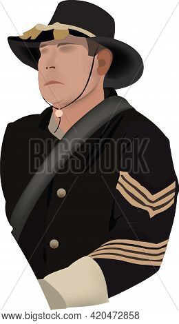 Military Uniformed War American Succession Soldier Northerner