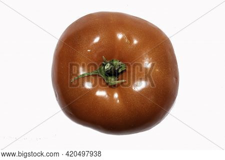 Red Tomato Isolated On White, Tomato Isolated, Tomato Isolated On White