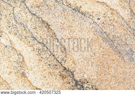 The Background Is Made Of Light Brown Granite With Lilac Veins And A Beautiful Pattern Similar To Ri
