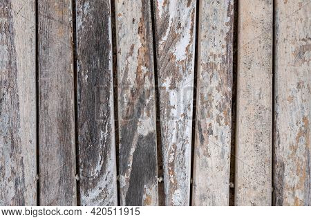 Hardwood Natural Background. Old Timber Planks. Wood Material, Texture. Wooden Floor, Rough Surface.