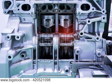 cylinder modern gasoline internal combustion engine