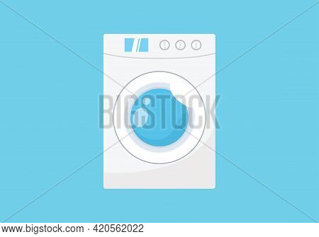 Washing Machine. Washing Machine Icon Isolated On White Background From Hygiene Collection. Washing