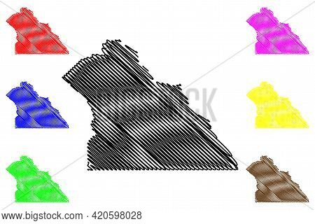 York County, Commonwealth Of Pennsylvania (u.s. County, United States Of America, Usa, U.s., Us) Map